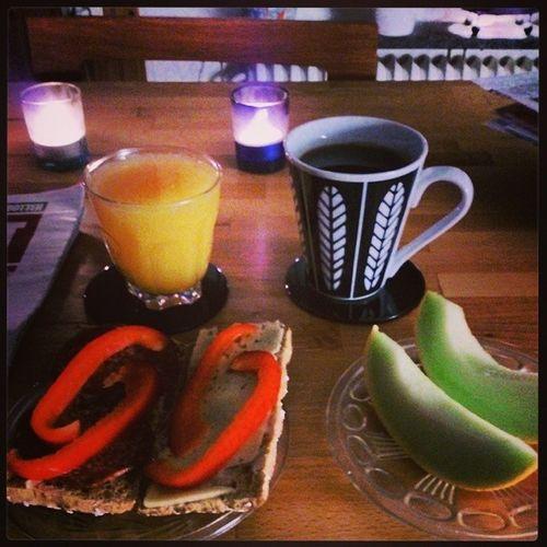 God morgon. Morning Livsnjutare Nyvecka M åndag
