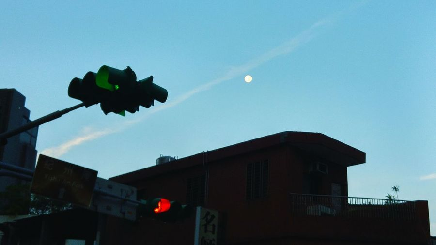 清晨的月亮 Morning Moon Sky