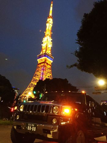 TOKYO tower.limousine.party.
