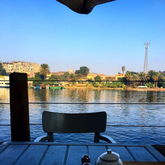 Cairo Day Egypt Nature No People Outdoors Reflection Sky The Nile River Tree Water