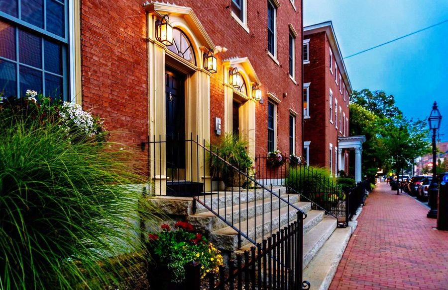 Portsmouth Brownstone Portsmouth New Hampshire Brownstones Condominium Town NH Seacoast Downtown Colour Your Horizn