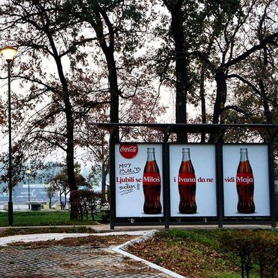Serbia Belgrad Nature Cocacola Advertising Marketing Love Story Ig_bgd Ig_belgrade Instagramsrbija Ig_srpska Lifestyleserbia Vscocam