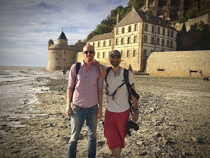Connected By Travel Saint Michael's Mount France Friends Friendship