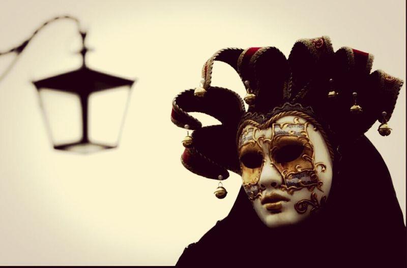 Venetian mask..