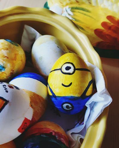 There is no easter without a little bit of minion 😄 Im So Funny! Enjoying Life Having Fun Easter Egg Arts Explore Discover Pursue Easter Eggs Funtimes Life Is Adventure