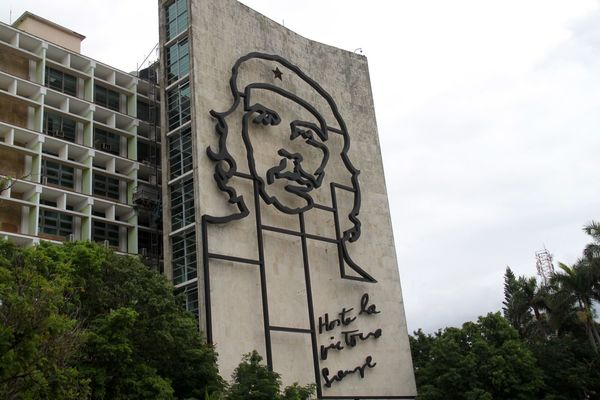 Been There. Che Cuba Cuba Collection Havana Havanna, Cuba Latin America Revolution Traveling Architecture Building Exterior Built Structure Che Guevara Close-up Communication History Low Angle View No People Outdoors Sculpture Text Travel Destinations This Is Latin America