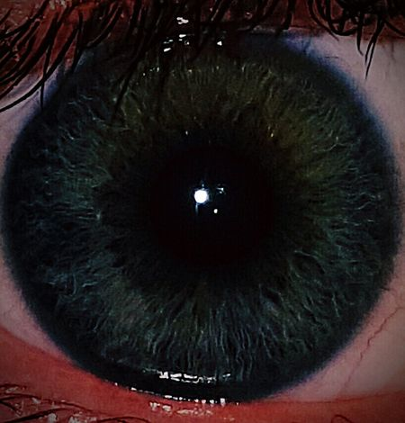 Close-up Human Eye Eyesight Outdoors Eyelash Eyeball People Day Blackhole Reflection Mirror Mirror Of The Soul