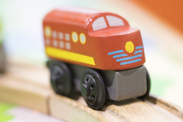 Red train Wooden toy - Toys for kids Play set Educational toys for preschool indoor playground (selective focus) Toy Car Toy Car No People Close-up Transportation Selective Focus Mode Of Transportation Motor Vehicle Still Life Indoors  Day Wood - Material Technology Focus On Foreground Land Vehicle Creativity Red Wheel Small Wooden Toy Wooden Toy Block Wooden Toy Train Train