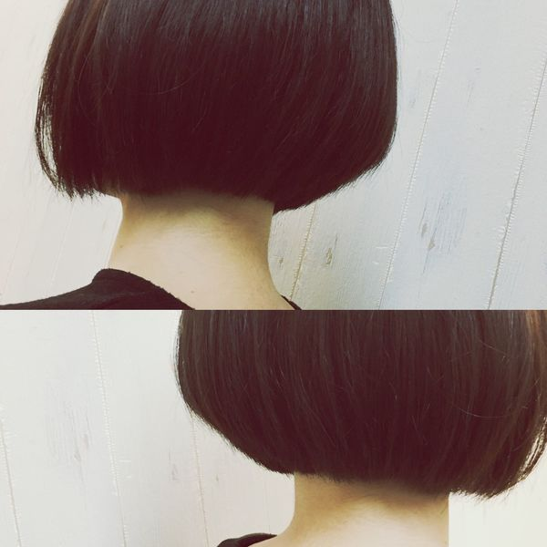 北九州 Haircut Hair Women Japan 髪 Kitakyushu Bob ✂
