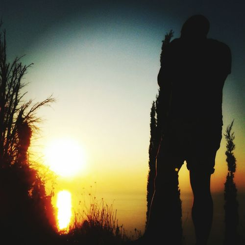 Sunset Man Makes Picture Lefkada GREECE ♥♥ Travel Photography Nature Photography Ilovethenature❤