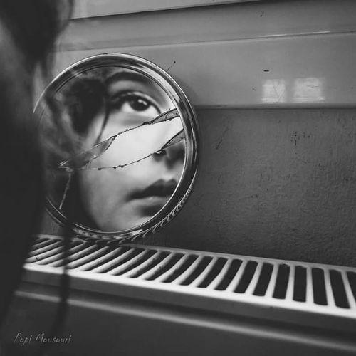 The Portraitist - 2016 EyeEm Awards Blackandwhite Monochrome Noir Portrait Vscocam VSCO Mirror The Portraitist - 2018 EyeEm Awards