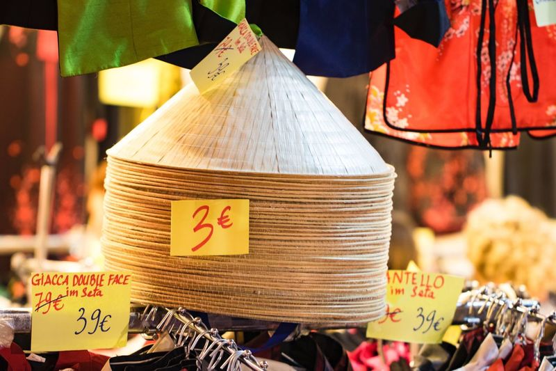 Text Hanging Retail  Store No People Outdoors Night Close-up For Sale Illuminated Market Food Market Stall China Dress