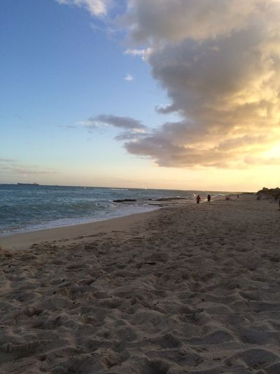 My playground Hanging Out beach therapy Sandcrabs 'Ewa Beach Hawaii