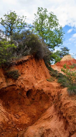 The valley of ochre Ochre Beauty In Nature Day Landscape Nature No People Outdoors Plant Scenics Sky Tranquility Tree