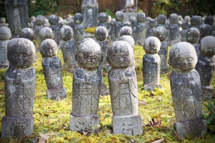 2017 Japan Jinnoji Jizo Kyoto Religion Statue Stone - Object Temple 京都 神応寺