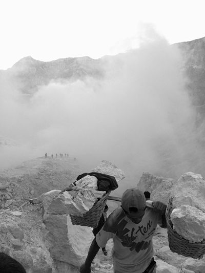 Blackandwhite Black And White Black & White Blackandwhite Photography Black&white Black And White Photography Work Worker Sulfur  Sulfur Miners Kawah Ijen Sulfur Gas Sulfur Rock Workers Workers At Work Hardwork Courage Working Working Hard Mine Miner Java INDONESIA People And Places Monochrome Photography Resist Break The Mold Small Business Heroes