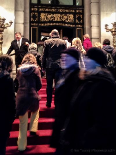 When cowardice is made respectable, its followers are without number both from among the weak and the strong; it easily becomes a fashion -Eric Hoffer | Checking Out The Plaza Hotel  Manhattan Seing Others