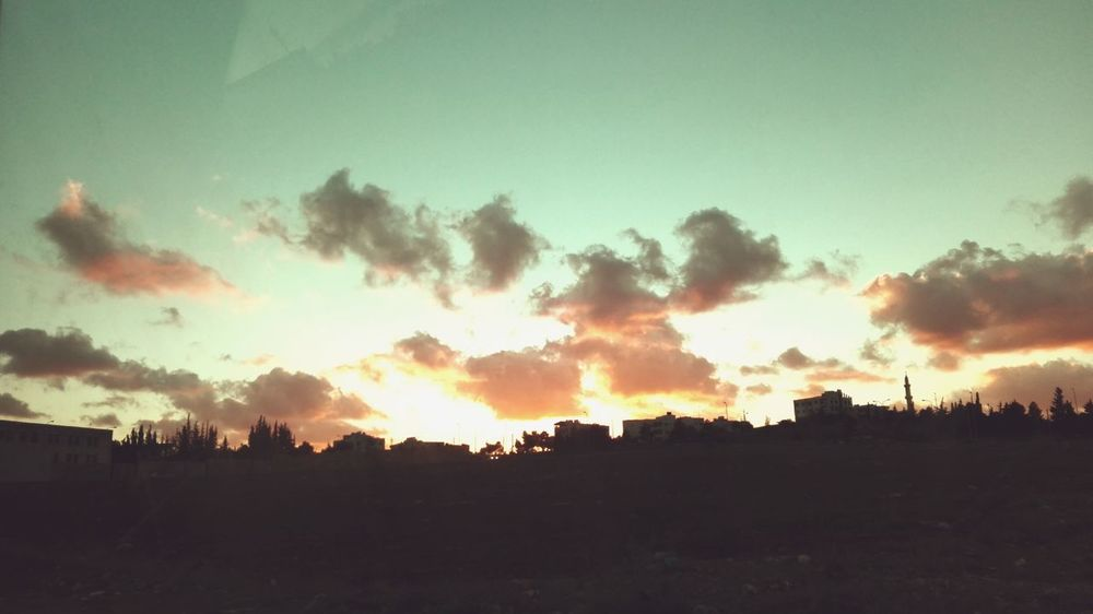 Beauty In Nature City Clouds God's Beauty Orange Outdoors Outside Sky Sun Suntset First Eyeem Photo
