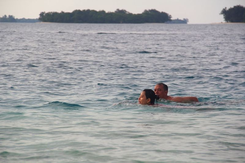 Adventure Buddies Swimming Vacation Pulauharapan INDONESIA Beach Weekend