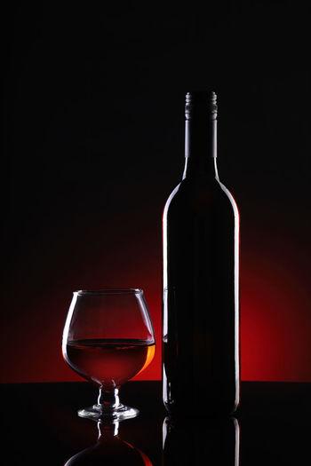 Red Wine Bottle