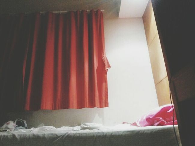 My bed my room....