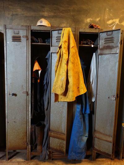 Locker room indoors