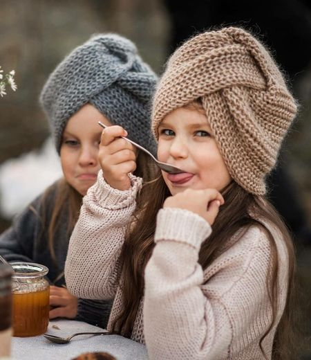 Hat Winter Women Clothing Two People Knit Hat Happiness Warm Clothing Smiling Drink Females Cold Temperature Child Portrait People Togetherness Adult Emotion Sweater Childhood The Portraitist - 2019 EyeEm Awards
