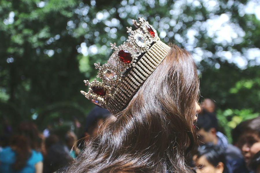 Queen Pageant Crown Woman Beautyqueen
