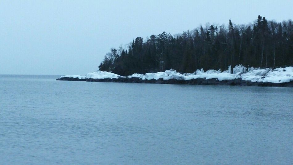 Taking Photos Hello World Capture The Moment Snowmobiling Enjoying Life Roadtrippin' Lake Superior Upper Michigan Shore