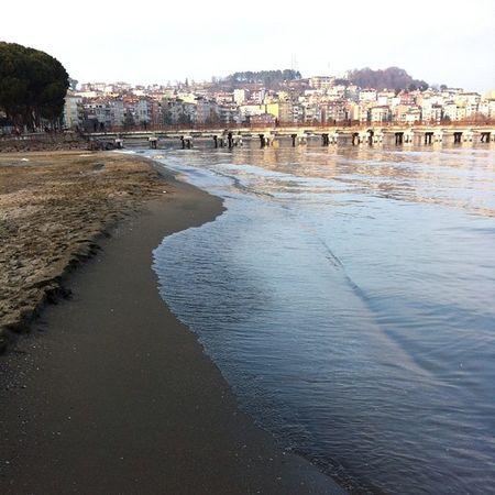 Kumsal Beach Ordu ünye sahil boyu sabah yuruyusu seyahat travel yakamoz deniz sea manzara nature karadeniz