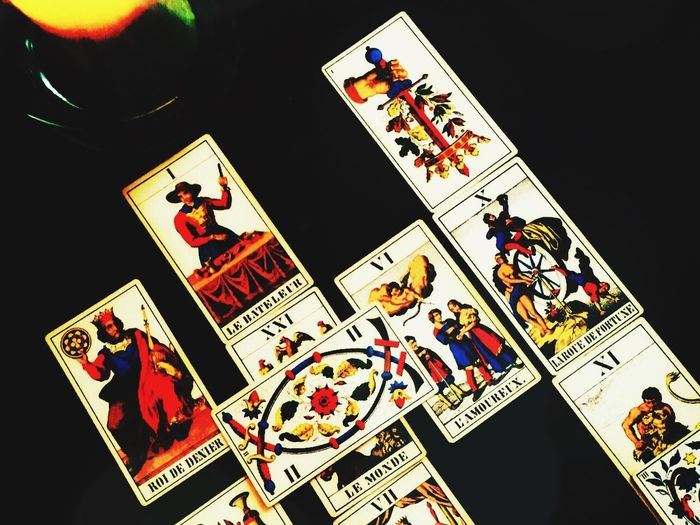 Vintage French Tarot Cards Tarotcards Magic Fortuneteller Eye Check This Out Vintage Mysterious Eye4photography  Taking Photos Nopeople TheWeekOnEyeEM