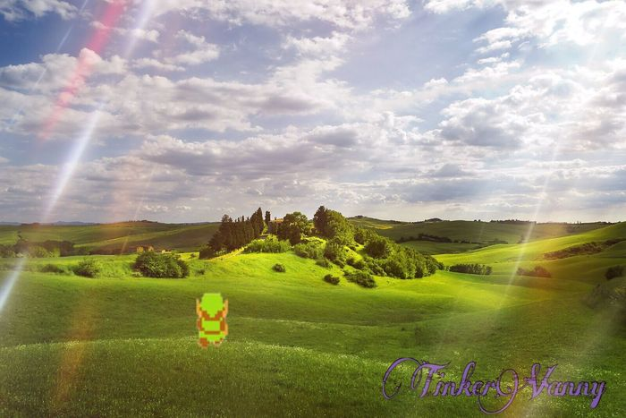 😜 Zelda 👌🏻👌🏻 Videogames Editing Playing With Apps  Playing With Effects Playing Photo Shop 🛡⚔ Edit By Me 🍃TinkerVanny🍃 😉