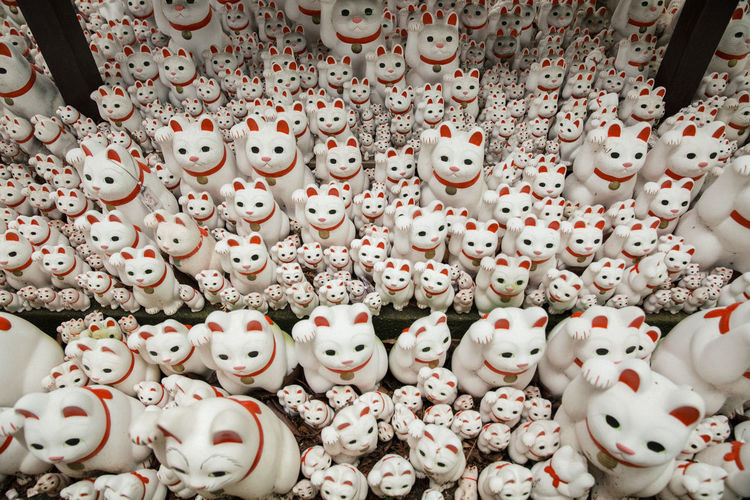 Cats Cats Of EyeEm Crafts Handmade Japan Japan Photography Japanese Culture Manekineko Oriental Pattern Repetition Tradition Traditional Culture Tripy