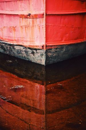 Boat Reflections Scotland Ship Reflection Vscocam Inverary Vital Spark