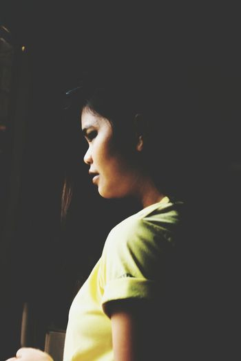 EyeEm Selects Only Women Contemplation Window People Indoors  Headshot Black Background Portrait PortraitPhotography Visualportraits EyeEm Gallery Philippines Visualsoflife EyeemPhilippines The Week On EyeEem Taking Photos Eyeemphoto Photographylovers Young Adult EyeEm Motion Blur The Week On EyeEm The Portraitist - 2018 EyeEm Awards