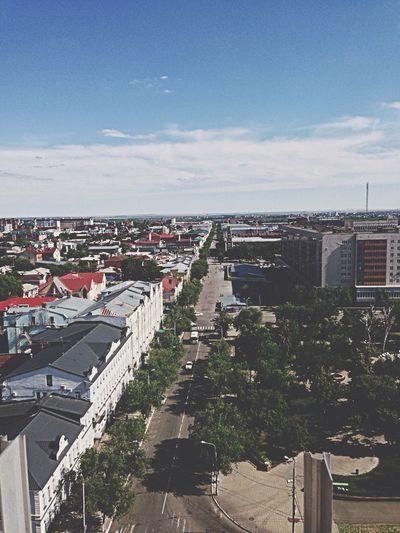 Orenburg City My City Street Советская улица