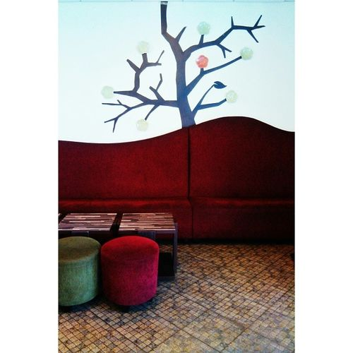 Morning everybody... said morning with little tree and two small chair. Hope a nice day guys ++++++++++++ Arsitektur Art Homepainting Morning indonesia jakarta klikon