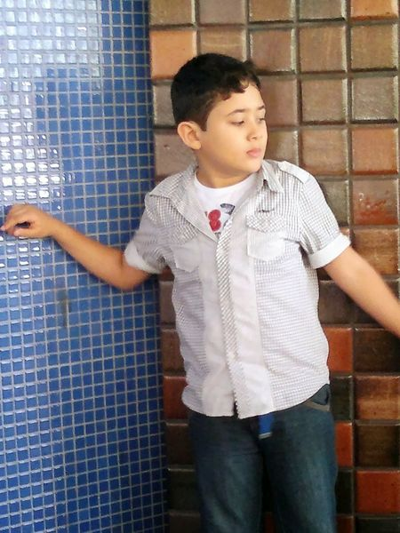 Boy. Front View Boys Standing Casual Clothing One Person Child Children Only Day Brasil ♥ Connected By Travel Guy One Boy Only Boy