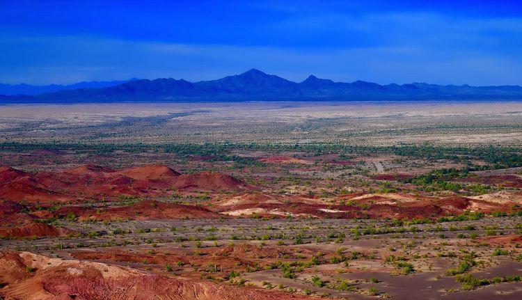 Arizona Desert Desert Landscape Desert Colors Mining Rocks
