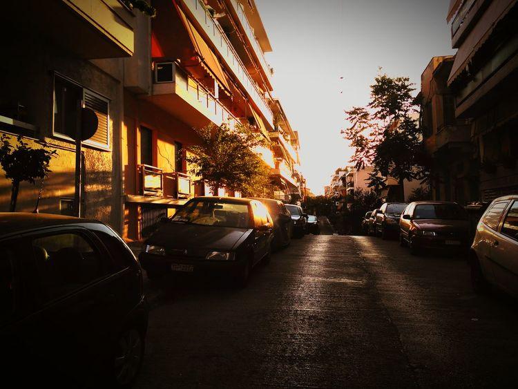 City sunset Enjoying Life Summer2016✨ Summer ☀ Sunset