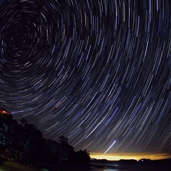 Waitete Bay Coromandel Sky_collection Stars Long Exposure New Zealand