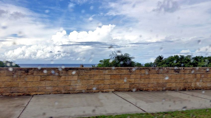On The Road Cloud Formations Clouds And Sky A Rainy Day Sea St.Croix, US Virgin Islands