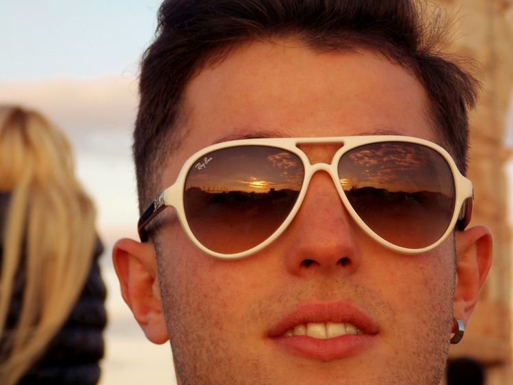 Photography Sunglasses Front View Young Adult Sky Human Face Traveling Beautiful Day Good Times Memories Remember Sunset EyeEm Gallery Love Italy Verona Voyage Withlove Colors Mymodel Nikon Eye4photography  EyeEm Best Shots Eyem Gallery