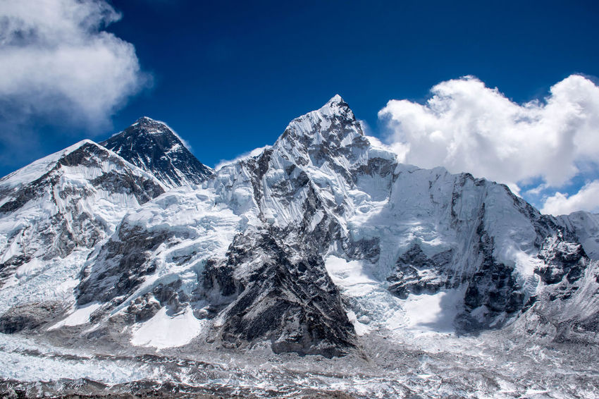 Trekking Nepal Lost In The Landscape Beauty In Nature Glacial Landscape Mountain Mountain Range Nature Outdoors Scenery Snow