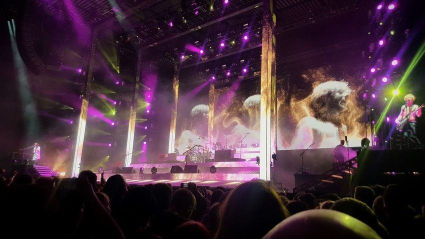 Biblical by Biffy Clyro at First Direct Arena, Leeds, UK Music Arts Culture And Entertainment Crowd Audience Performance Rock BiffyClyro Biffy Clyro❤ First Eyeem Photo