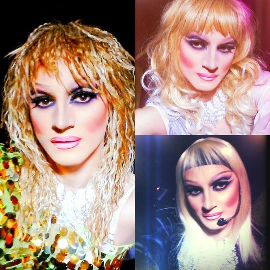 Impersonator Dragqueen  Makeup Selfie www.crystalshow.com.ua