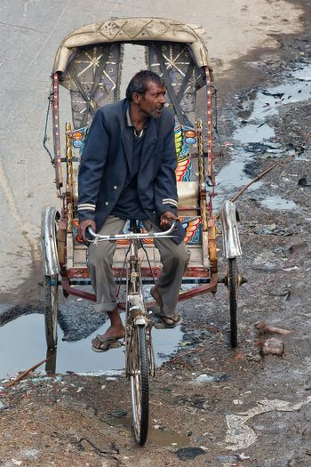Street photo in Allahabad Uttar Pradesh. January 19, 2017. Transportation Mode Of Transport Portrait People Cultures Check This Out Storytelling India Travel Street Photography Documentary Streetphotography People Photography EyeEm Best Shots - People + Portrait Incredible India Indian Travel Photography Real People