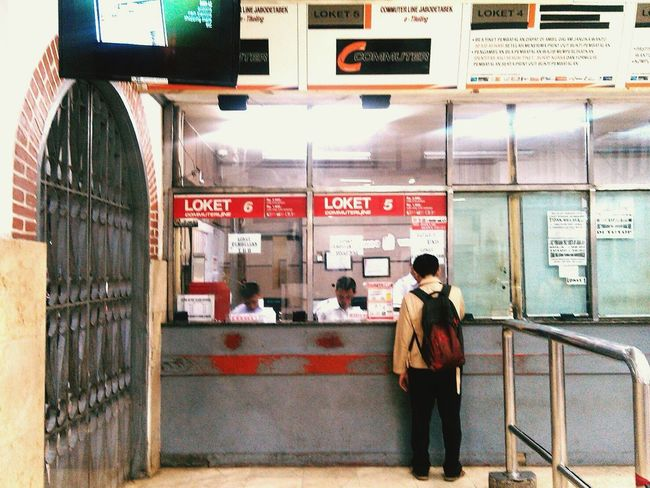 Train Ticket TicketBooth Gate My Commute Loket The Street Photographer - 2016 EyeEm Awards