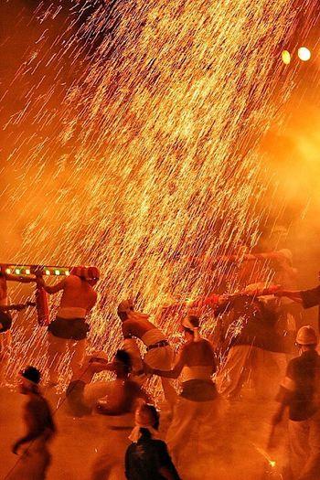 火の祭典 手力の火祭り EyeEm Best Shots