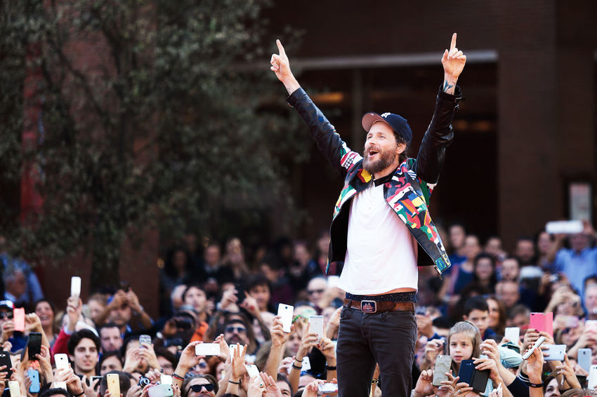 Rome, Italy - October 16, 2016. The Italian singer Jovanotti with his fans on the red carpet of the 11th International Film Festival of Rome. Arts Culture And Entertainment Entertainment Event Fans Film Festival Rome Italian Singer Jovanotti Lorenzo Cherubini Performance Pop Musician Red Carpet Rome Film Fest Celebrities Person Celebrity LifeIsGood💜 Redcarpet News Red Carpet Event Famous People Rome Film Festival Onemanshow